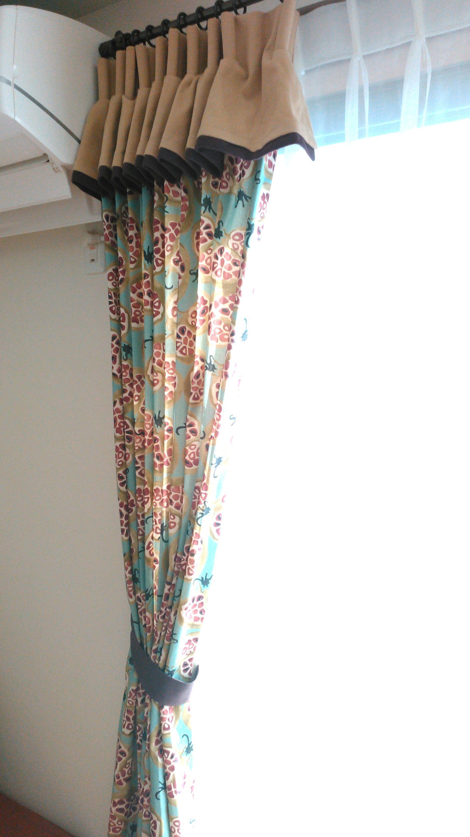 サンダーソン『ザクロ柄』のカーテン モリス正規販売店のブライト_c0157866_16095294.jpg