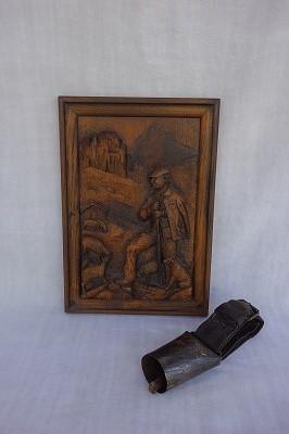 """フランス古道具 \""""P\"""" 生活の飾り-羊のパネル_e0051968_12043367.jpg"""