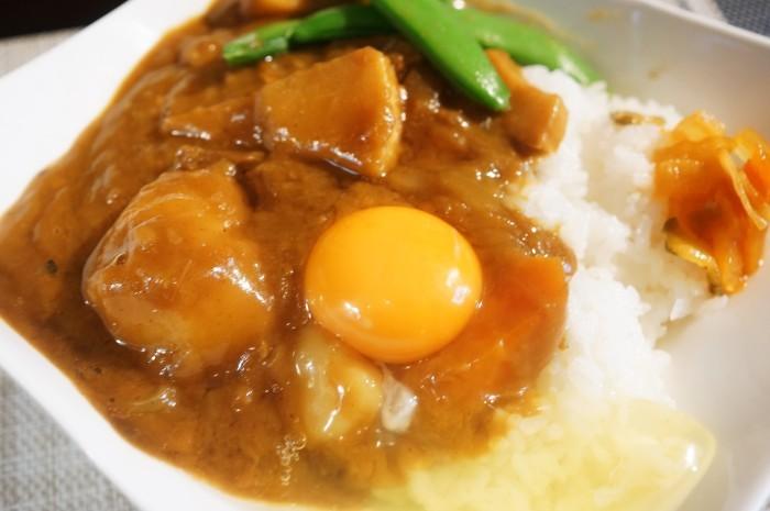 ■晩ご飯【竹の子と浅利入りビーフカレーって最高です♪】こくまろ辛口使用です♪_b0033423_19282421.jpg