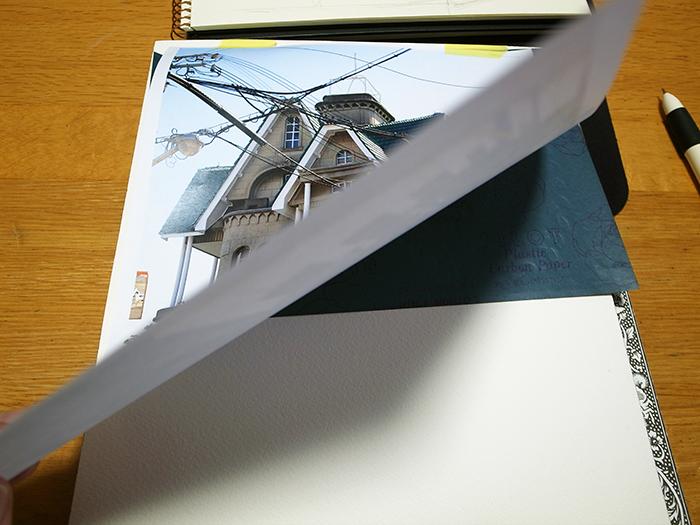 おうちで描こうよ② 一般クラス「春の洋館を描く」_b0212226_18123818.jpg