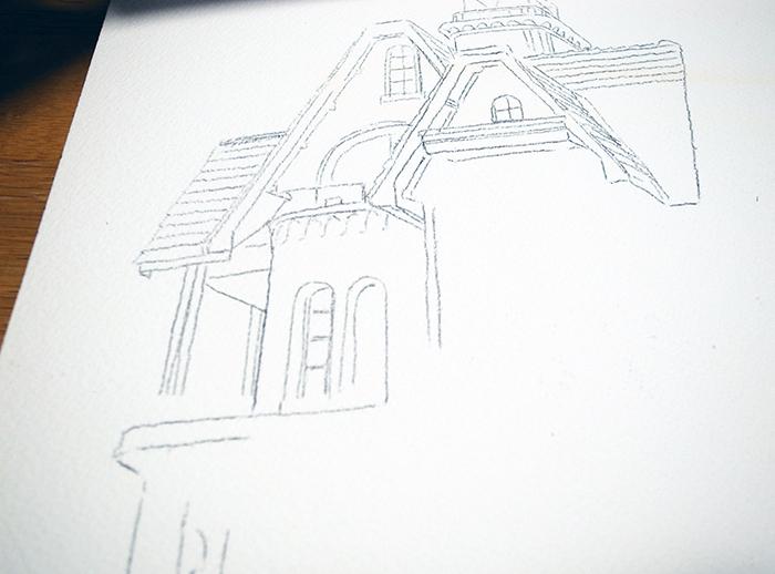 おうちで描こうよ② 一般クラス「春の洋館を描く」_b0212226_18180717.jpg