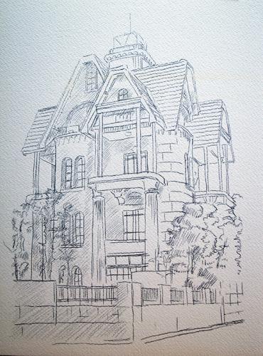おうちで描こうよ② 一般クラス「春の洋館を描く」_b0212226_18213431.jpg