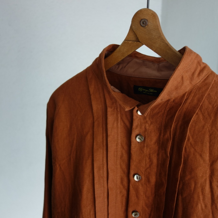 7月の製作 / french victorians heavylinen shirt / 別注品_e0130546_15221547.jpg