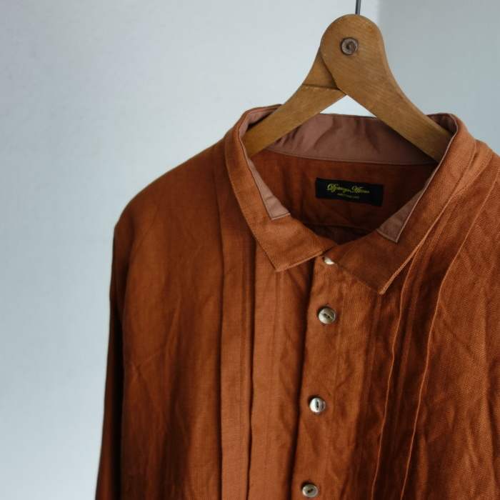 7月の製作 / french victorians heavylinen shirt / 別注品_e0130546_15223256.jpg