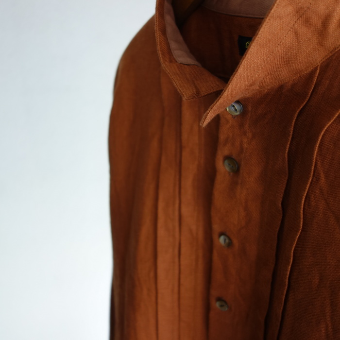 7月の製作 / french victorians heavylinen shirt / 別注品_e0130546_15233275.jpg