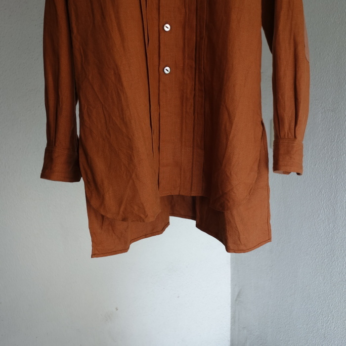 7月の製作 / french victorians heavylinen shirt / 別注品_e0130546_15242708.jpg