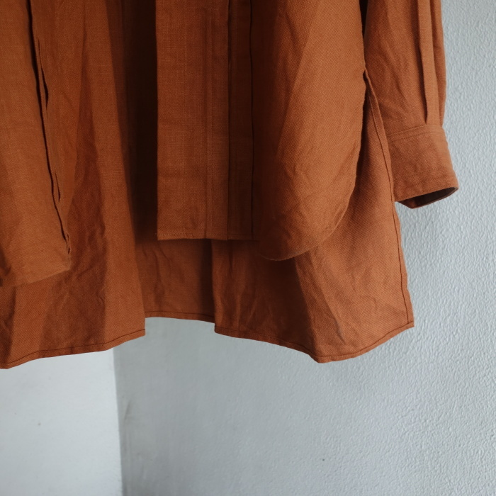 7月の製作 / french victorians heavylinen shirt / 別注品_e0130546_15251294.jpg