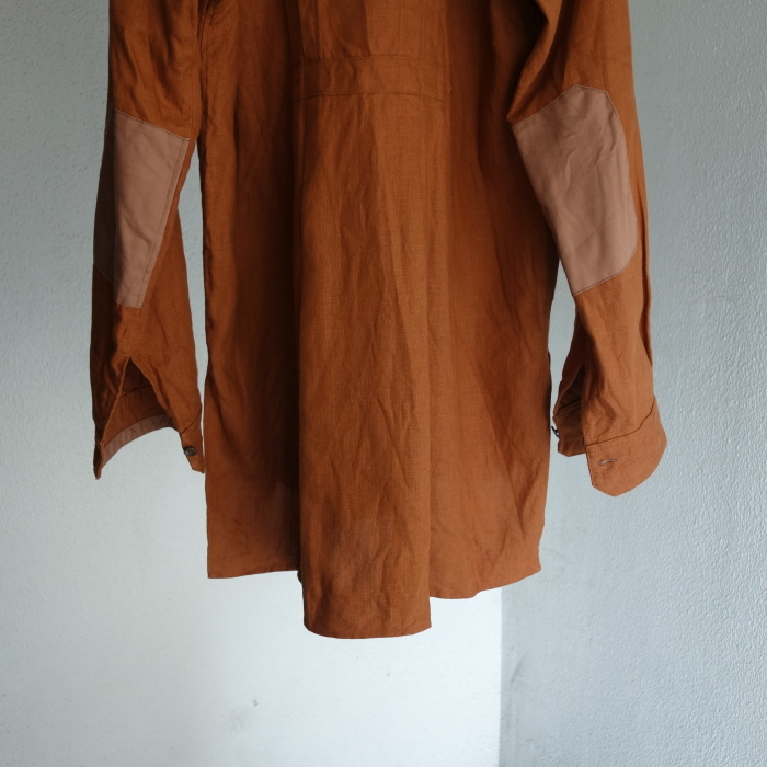 7月の製作 / french victorians heavylinen shirt / 別注品_e0130546_15255690.jpg