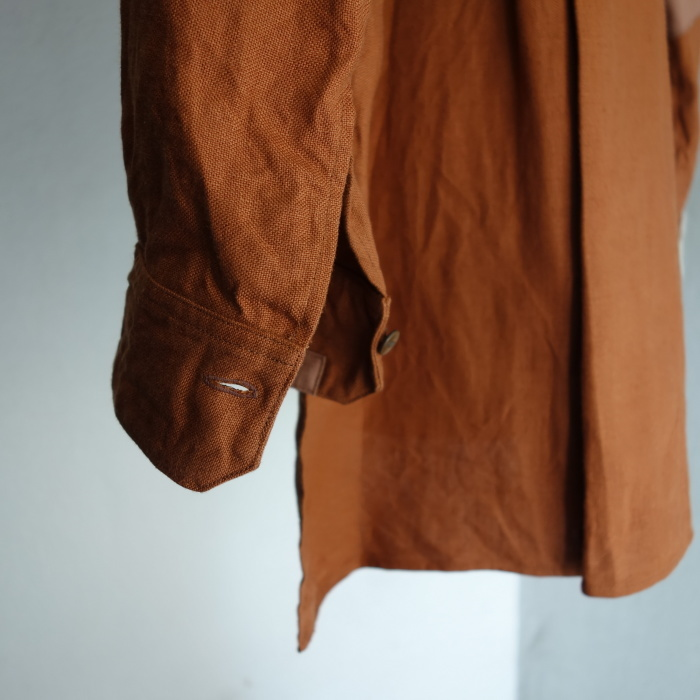 7月の製作 / french victorians heavylinen shirt / 別注品_e0130546_15263866.jpg