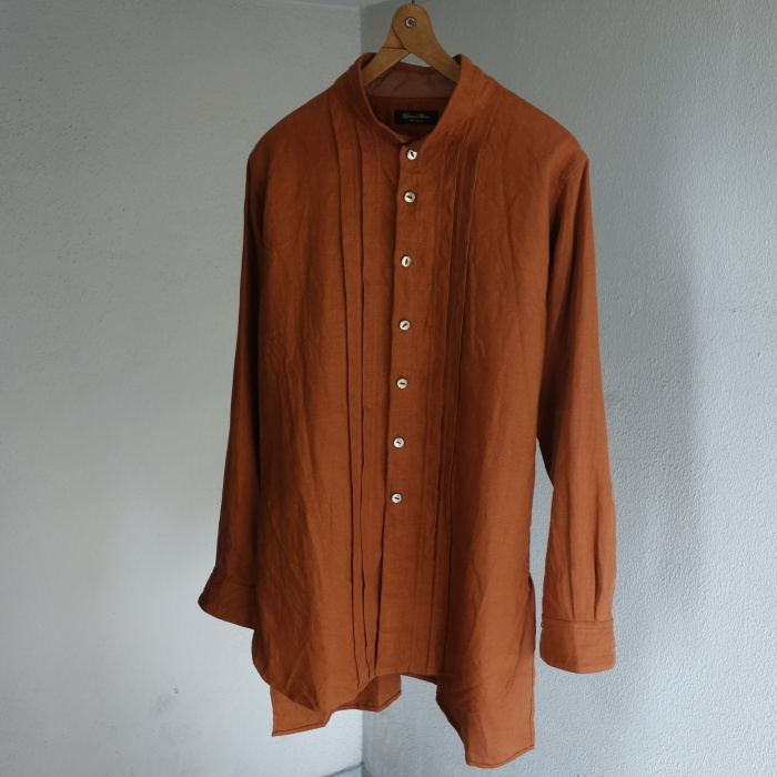 7月の製作 / french victorians heavylinen shirt / 別注品_e0130546_15273890.jpg