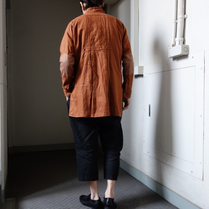7月の製作 / french victorians heavylinen shirt / 別注品_e0130546_18203210.jpg