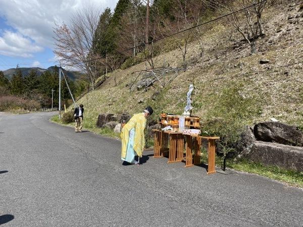 付知峡山開き及び安全祈願⛰_e0020051_14304957.jpg