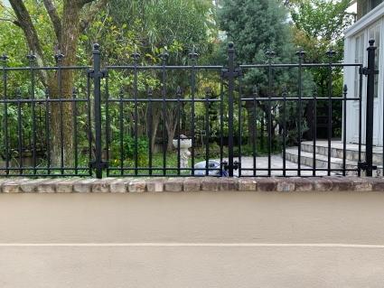 庭のフェンスを塗ってみた_f0185066_21060986.jpg