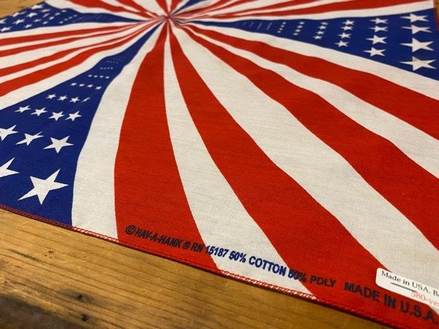 豊富です!!Made In USAバンダナ!!(マグネッツ大阪アメ村店)_c0078587_19091454.jpg