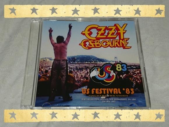 4/27宣言下20日目(休日10日目) OZZY OZBOURNE / US FESTIVAL\'83 THE COMPLETE SOUNDBOARD_b0042308_01133112.jpg