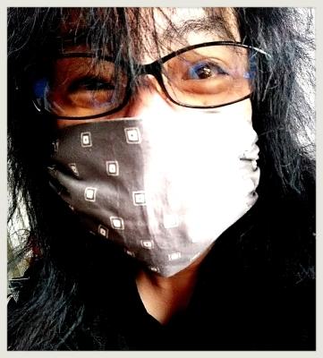 極限自粛…密を避け 手作りマスクでも楽しみながらバリ作業!_b0183113_23155039.jpg