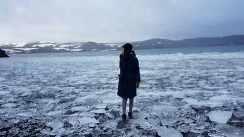 もうすぐ春!湖面の氷が緩むKleifarvatn_c0003620_23263501.jpg
