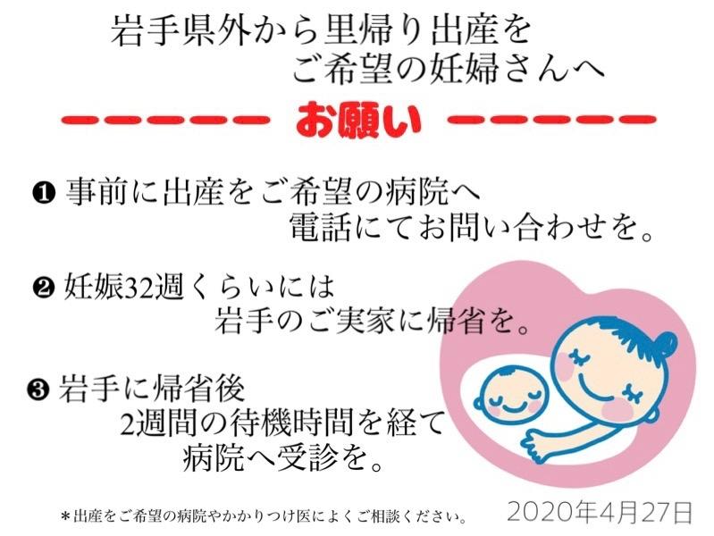 岩手県外から里帰り出産をご希望の妊婦さんへ・またすべての妊婦さんへ_b0199244_23132670.jpg