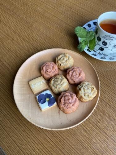 母の日企画 fudan cafe コラボ flower and sweets set 販売中です。_c0069389_18301895.jpeg