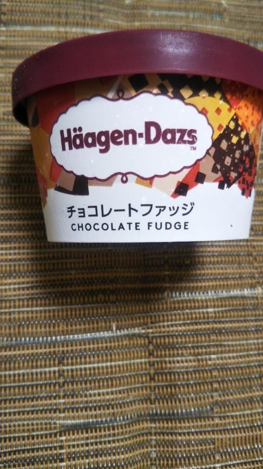 ハーゲンダッツ チョコレートファッジ_f0076001_23221951.jpg