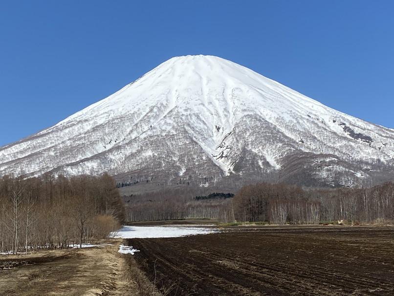 "2020年4月『春の羊蹄山、四景』 April 2020 \""Mt Yotei, Four Sceneris\""_c0219616_21452048.jpg"