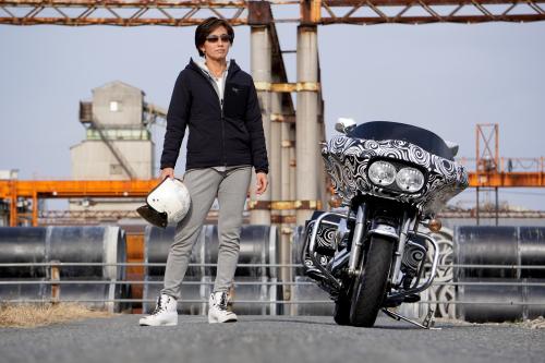 大谷 奈津江 & Harley-Davidson FLTR(2019.12.11/KUMAGAYA)_f0203027_14474953.jpg