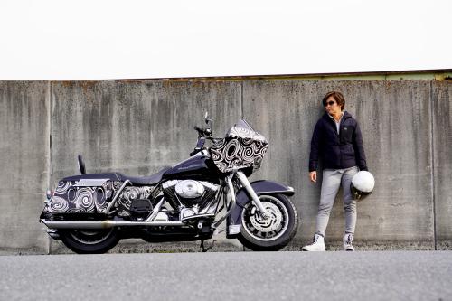 大谷 奈津江 & Harley-Davidson FLTR(2019.12.11/KUMAGAYA)_f0203027_14480276.jpg
