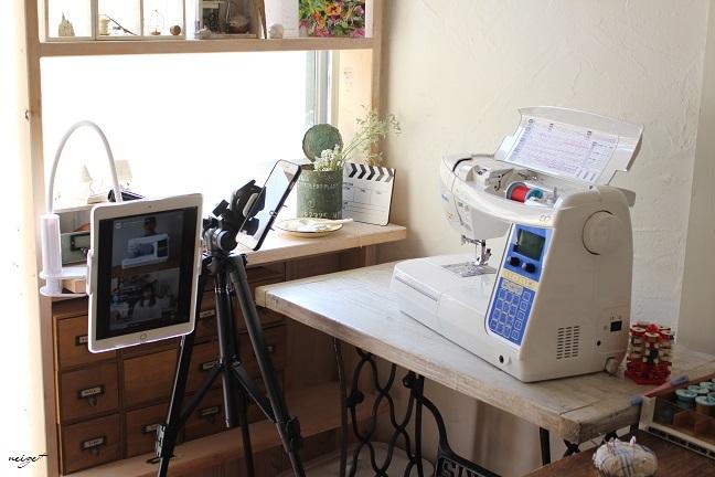 『ミシン周りの収納と裁縫道具の紹介』インスタライブありがとうございました!_f0023333_23094067.jpg