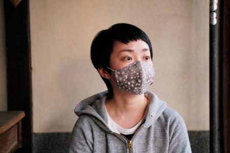 サイズ選びの参考に。FU-KOの立体マスク着用画像です。_d0227246_19032075.jpg