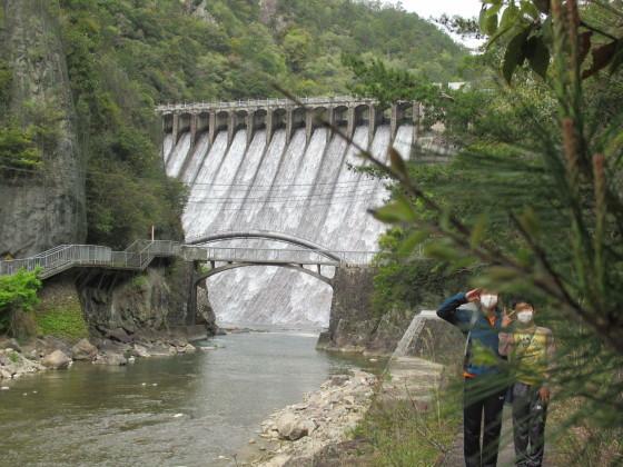 100年前のダムに感動。久しぶりにPCから投稿してみよう_f0033152_19080007.jpg