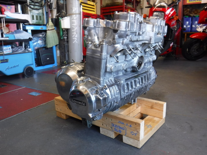KAWASAKI KZ1300・・・エンジンでござります♪その10_a0163159_02232435.jpg