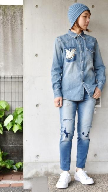 DENIM Western SHIRTS   スカ刺繍★_d0152280_12344539.jpg