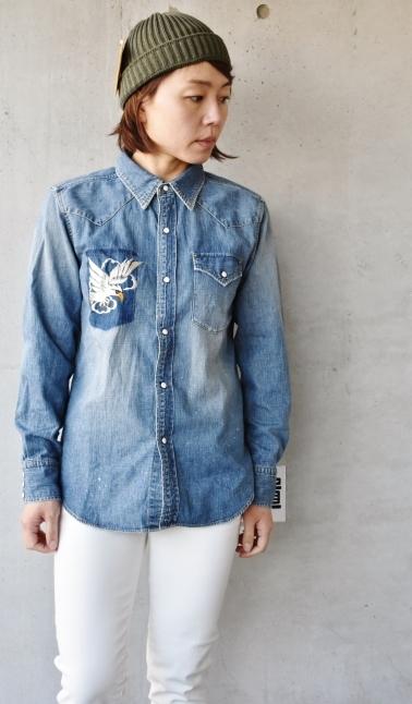 DENIM Western SHIRTS   スカ刺繍★_d0152280_12384537.jpg