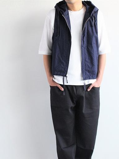 RANDT Studio Vest - Pima Cotton Poplin_b0139281_13293938.jpg