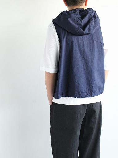 RANDT Studio Vest - Pima Cotton Poplin_b0139281_13304037.jpg