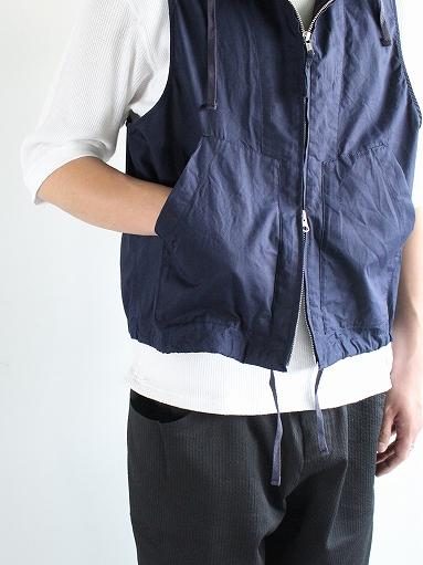 RANDT Studio Vest - Pima Cotton Poplin_b0139281_13304944.jpg