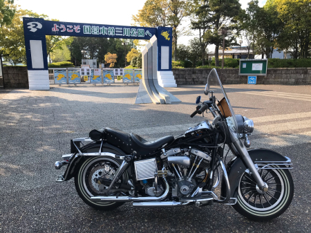 79FLH慣らし運転試乗〜 4/29/2020_c0133351_16102593.jpg