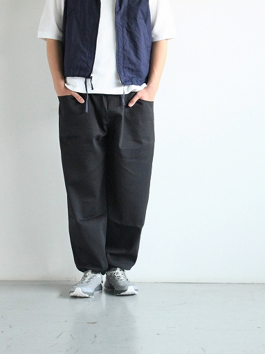 South2 West8 String Cuff Easy Pant - Pe/C Dobby Stripe_b0139281_14101821.jpg
