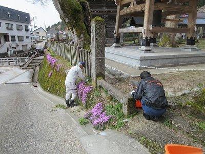 「毘沙門堂」清掃ボランティア_b0092684_18013552.jpg