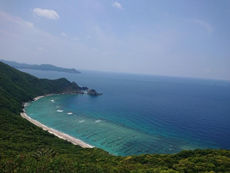 加計呂麻島より_e0220493_00322203.jpg