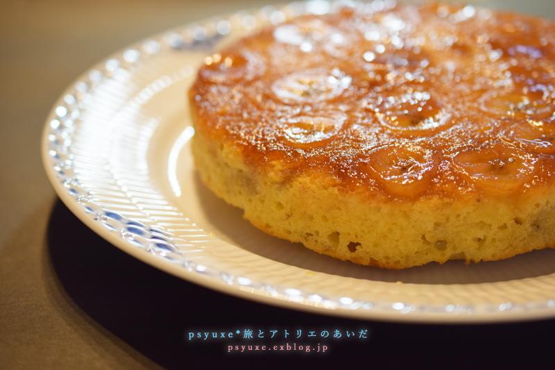キャラメリゼのバナナケーキ_e0131432_17060154.jpg