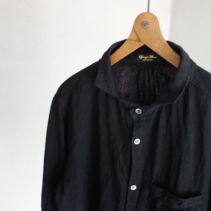 6月の製作 / classic frenchwork premiumlinen shirt_e0130546_12550805.jpg