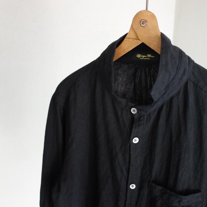 6月の製作 / classic frenchwork premiumlinen shirt_e0130546_12551708.jpg