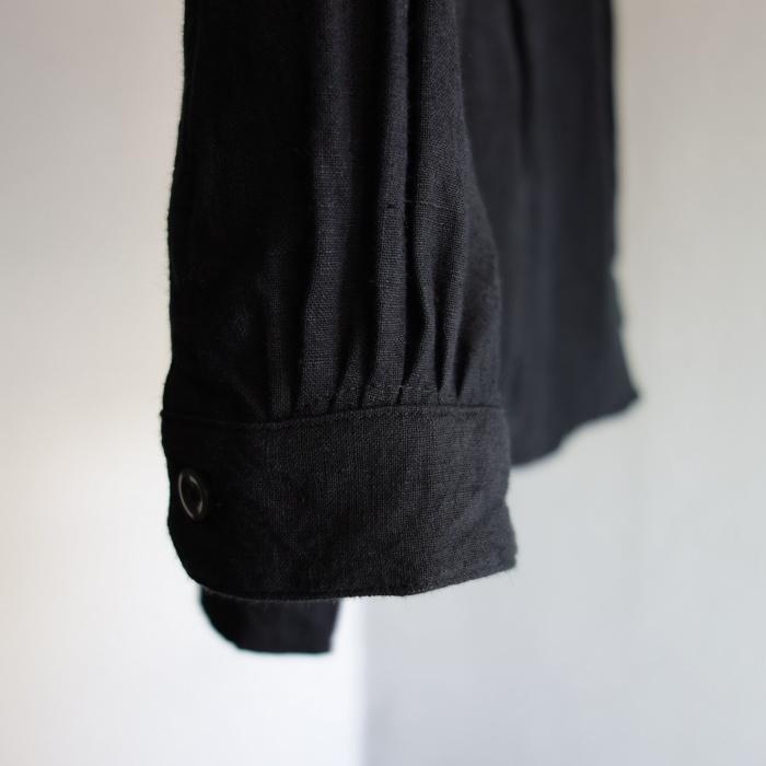 6月の製作 / classic frenchwork premiumlinen shirt_e0130546_12565620.jpg