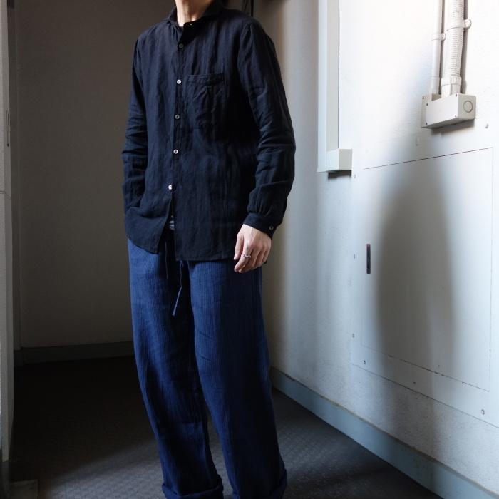 6月の製作 / classic frenchwork premiumlinen shirt_e0130546_18342205.jpg