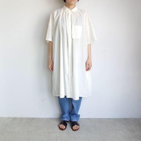 FACTORY : ペルー綿アンティークチュニックシャツ_a0234452_16260667.jpg