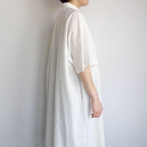 FACTORY : ペルー綿アンティークチュニックシャツ_a0234452_16261350.jpg