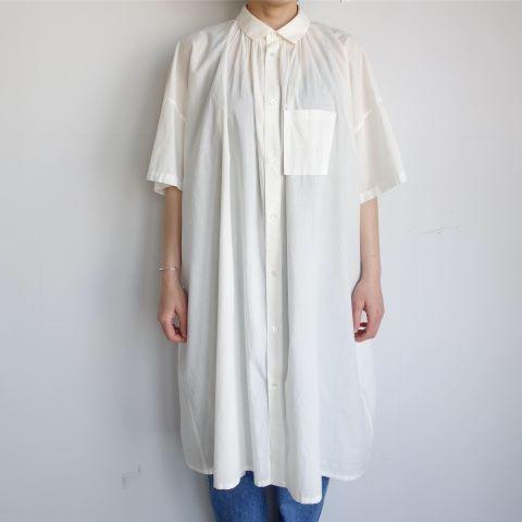 FACTORY : ペルー綿アンティークチュニックシャツ_a0234452_16262109.jpg