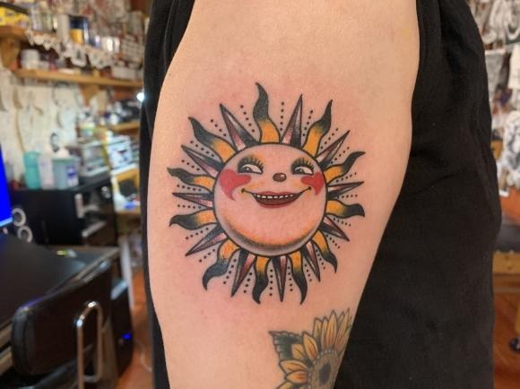 コロナな今だからこそ・・・太陽のタトゥー     Shun_b0191270_11453835.jpg
