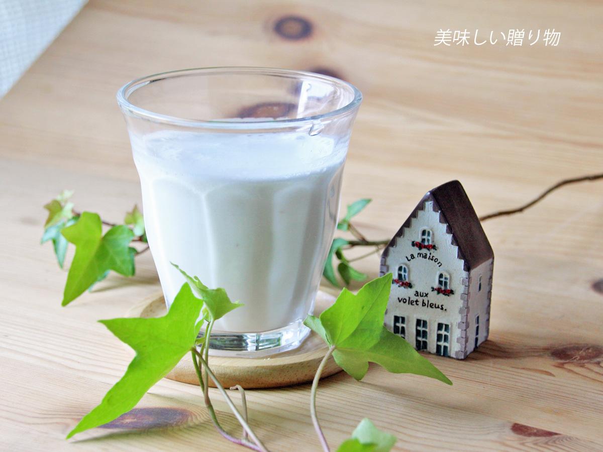 バナナヨーグルトセーキ レシピ有_a0216871_08400957.jpg